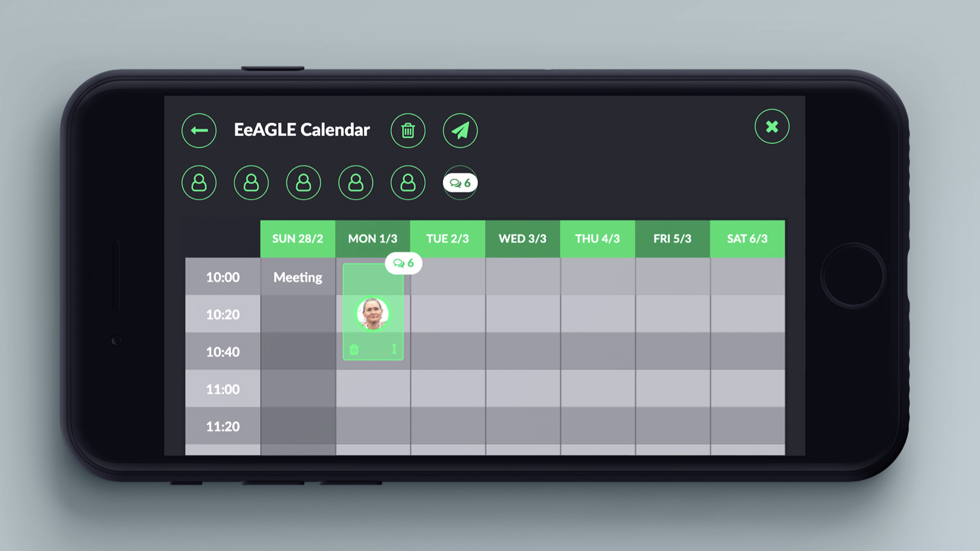 FLIGBY v2.0 - UI optimized for mobile devices 1